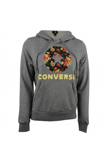 Hanorac femei Converse IN BLOOM HOODIE MASON 10017331-048