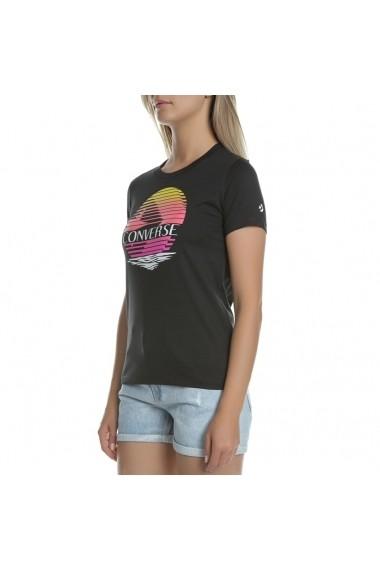 Tricou femei Converse regular fit cu imprimeu logo 10017094-001