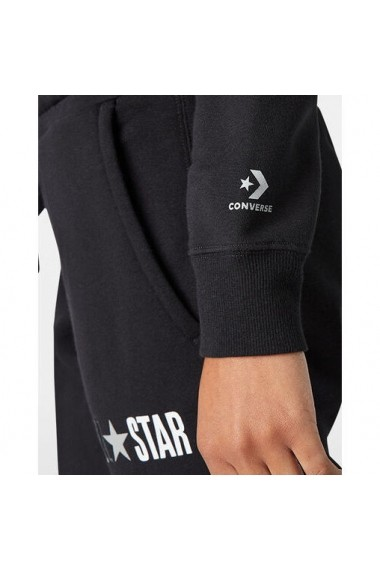 Hanorac femei Converse All Star Fleece Full Zip Womens Hoodie 10018309-001