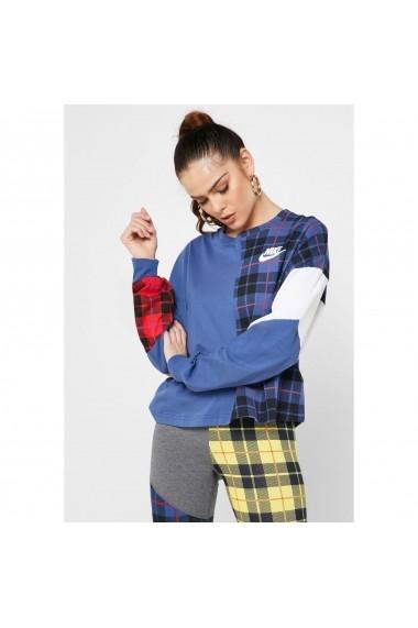 Bluza femei Nike Top Ls Plaid BV4674-469