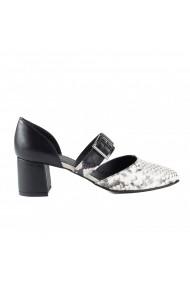 Pantofi pumps cu bareta Donna Mia DM2005 negru