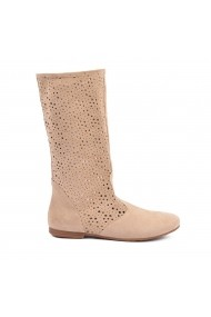 Cizme de vara perforate Donna Mia DM1611 beige