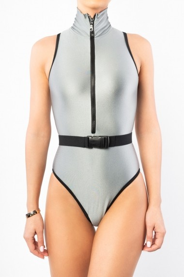Costum de baie Surf-up Grey Sidef Sleeveless Gri Motivate Store