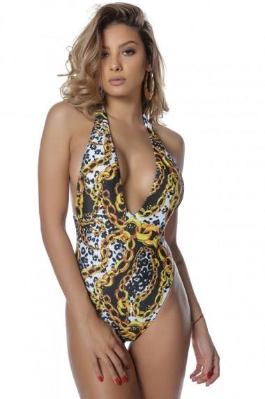 Costum de baie intreg Reberca Leo Chain,Motivate Store