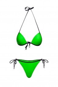 Costum baie 2 piese Mistery Verde Neon Motivate Store