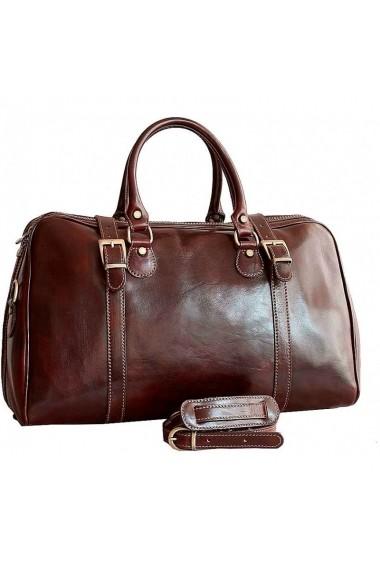 Geanta voiaj dama bagaj de mana avion din piele naturala DGV112A