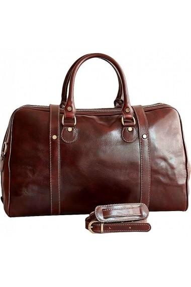Geanta voiaj dama bagaj de mana avion din piele naturala DGV112B