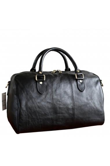 Geanta voiaj dama din piele naturala bagaj de mana avion DGV113