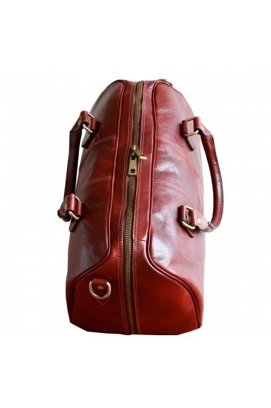 Geanta voiaj dama din piele naturala bagaj de mana avion DGV113A