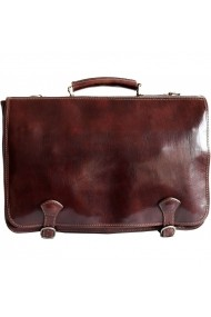 Geanta laptop din piele naturala vachetta, S122A