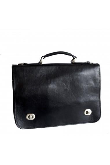 Geanta dama pentru laptop din piele naturala, DS110