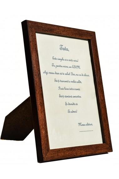Rama foto cu mesaj personalizat - Amintire pentru Tata