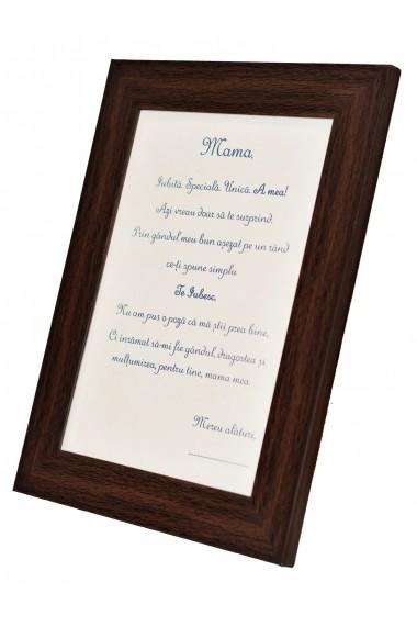 Rama foto cu mesaj personalizat - Amintire pentru Mama