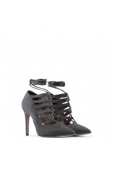 Pantofi cu toc Made in Italia MORGANA GLITTER NERO