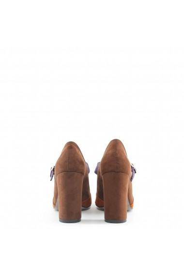 Pantofi cu toc Made in Italia GIORGIA CUOIO-ZUCCA