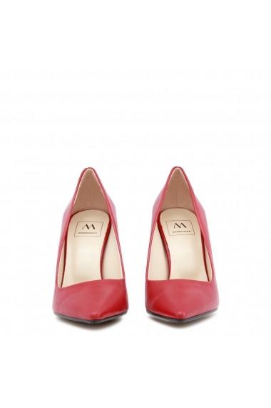 Pantofi cu toc Made in Italia EMOZIONI_NAPPA_FIAMMA rosu
