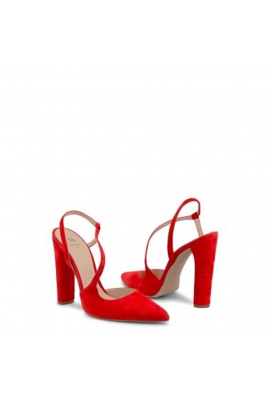 Pantofi cu toc Made in Italia DIAMANTE-CAM ROSSO rosu
