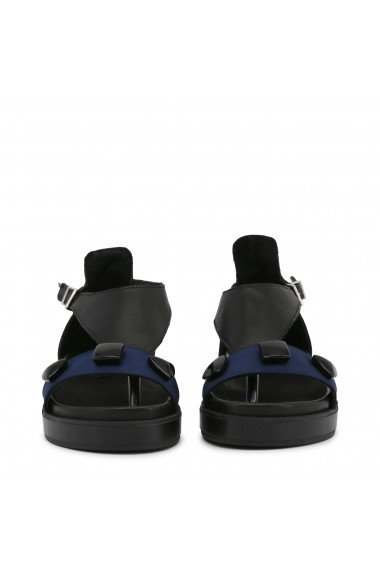 Sandale plate Ana Lublin VIOLETA BLU albastru