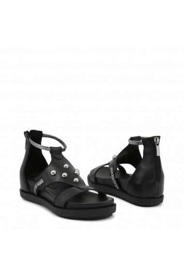 Sandale plate Ana Lublin ANDREIA NERO negru