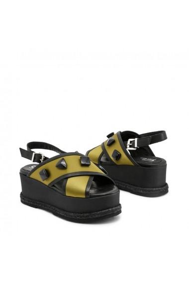 Sandale cu toc Ana Lublin PAULINA_VERDE