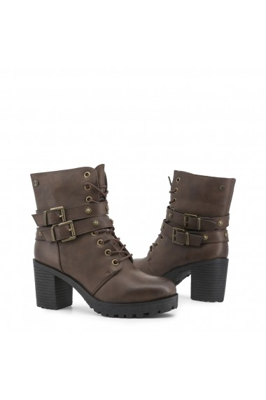Botine XTI 33858 BROWN Maro