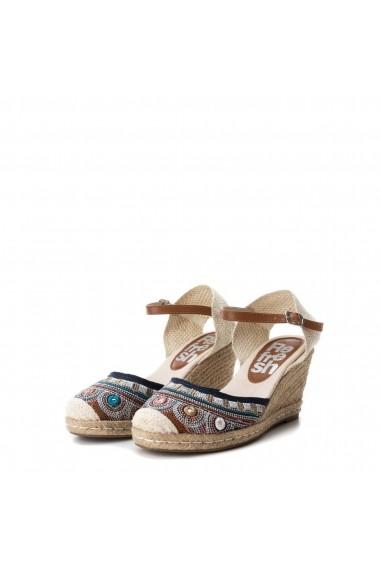 Sandale cu toc XTI 64248_NAVY Maro