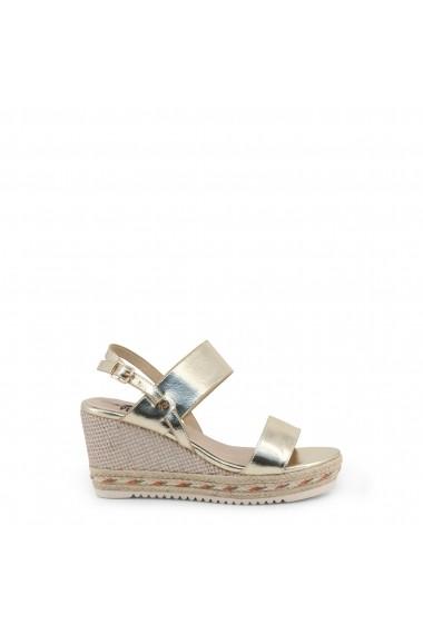 Sandale cu platforma XTI 47657 GOLD Galben