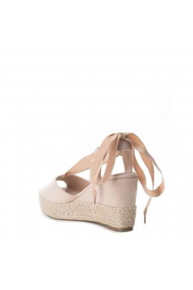 Sandale cu platforma XTI 47609 NUDE Roz
