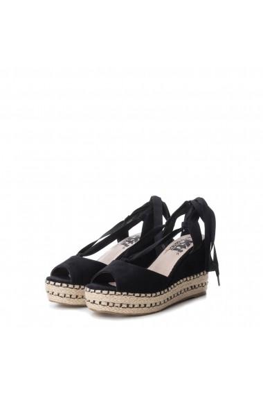 Sandale cu toc XTI 47609_BLACK Negru