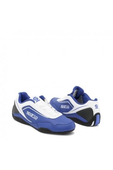 Pantofi sport pentru barbati Sparco JEREZ BIANCO-ROYAL