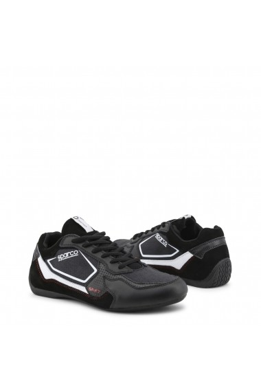 Ghete sport Sparco SP-F7_BLACK-RED Negru