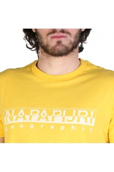 Tricou Napapijri SEVORA_N0YIJ9YA7 Galben