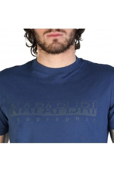 Tricou Napapijri SEVORA_N0YIJ9BD1 Albastru
