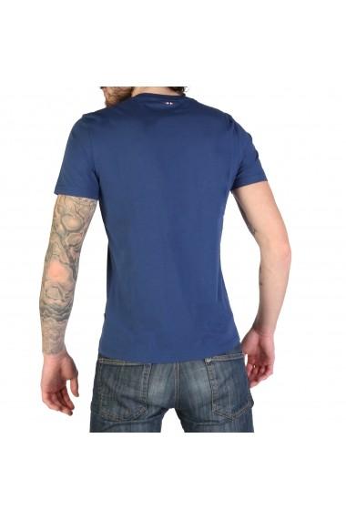Tricou Napapijri SELIOS_N0YJAYBD1 Albastru
