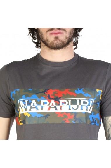 Tricou Napapijri SALKA_N0YIHBH74 Gri
