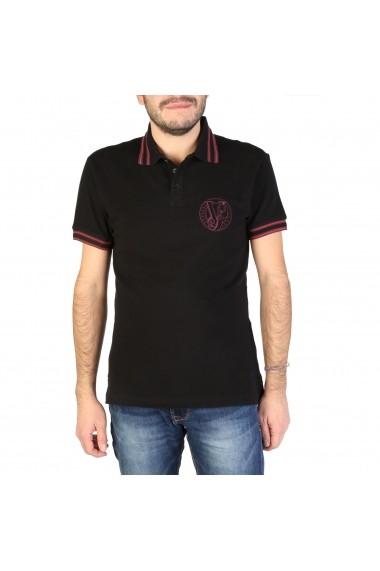 Tricou Polo Versace Jeans B3GSB7P1 36571 899 Negru