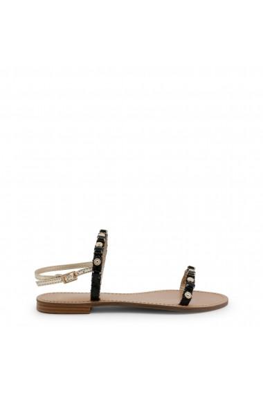 Sandale plate Versace Jeans VRBS52 899 NERO