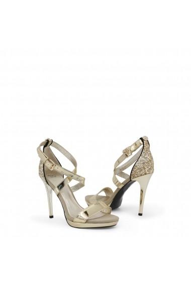 Sandale cu toc Versace Jeans VRBS11_70078_901_ORO auriu - els