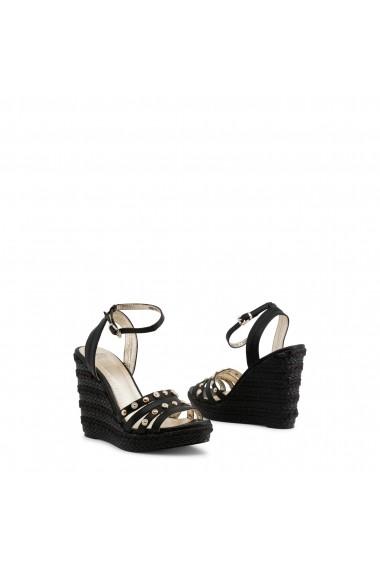 Sandale cu toc Versace Jeans VRBS31_899_NERO