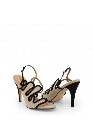 Sandale cu toc Arnaldo Toscani 1218025_BEIGE-NERO