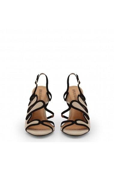 Sandale cu toc Arnaldo Toscani 1218025_BEIGE-NERO Maro