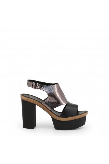 Sandale cu toc Arnaldo Toscani 1218019_NERO_CDF Argintiu.