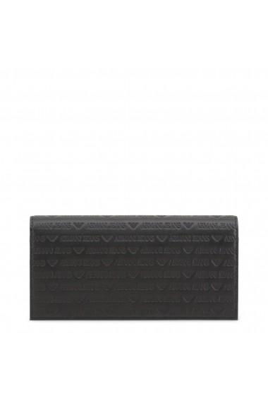 Portofel Armani Jeans 938543_CD999_00020_BLACK Negru