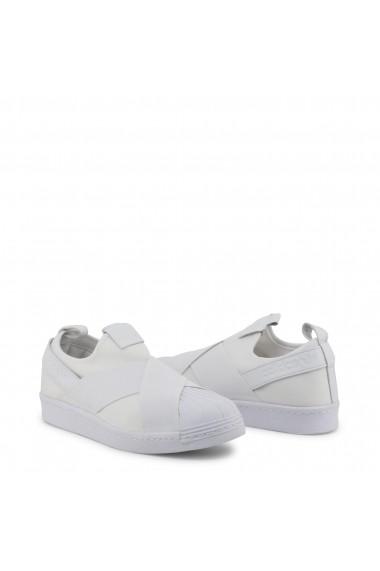 Pantofi sport Adidas BZ0111_Superstar-Slipon Alb
