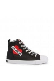 Pantofi sport casual JA15023G18IL 0000 Love Moschino Negru
