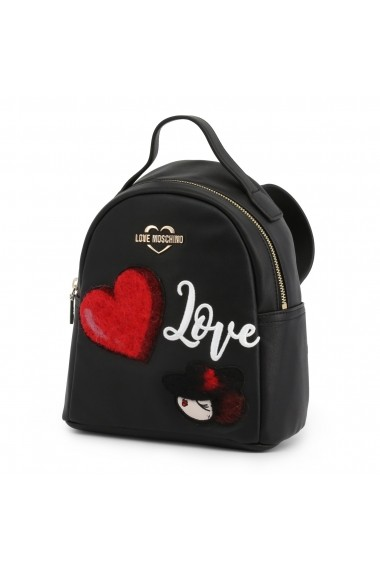 Rucsac JC4091PP18LP_0000 Love Moschino Negru