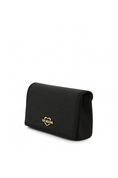 Clutch Love Moschino JC4149PP17LX_0000 Negru