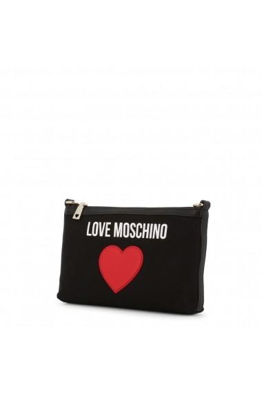 Geanta plic Love Moschino JC4335PP07KV_100A Negru