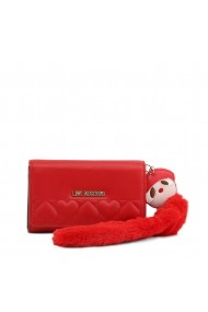 Clutch JC5616PP18LO 0500 Love Moschino Rosu