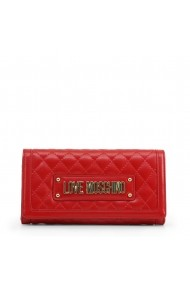 Clutch JC5601PP18LA 0500 Love Moschino Rosu